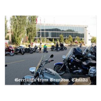 Greetings from Brandon, Canada! Postcard