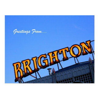 Greetings from BRIGHTON Postcard