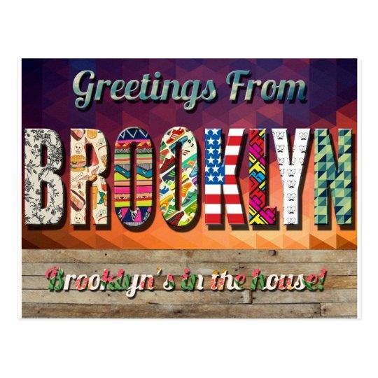 Greetings from brooklyn postcard postcard zazzle greetings from brooklyn postcard postcard m4hsunfo