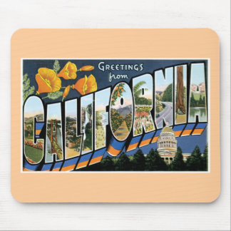 Greetings from California! Mouse Pad