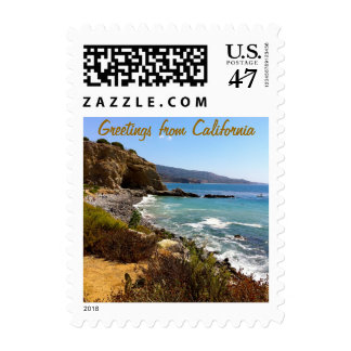 Greetings from California Postage