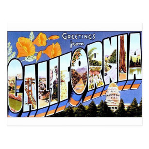 Greetings from california postcards zazzle greetings from california postcard m4hsunfo