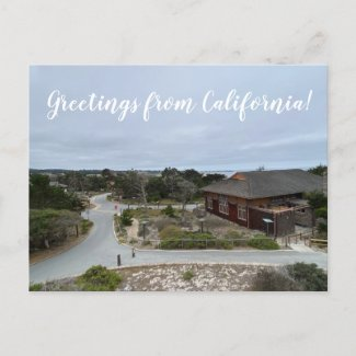 Greetings from California: Refuge by the Sea Postcard