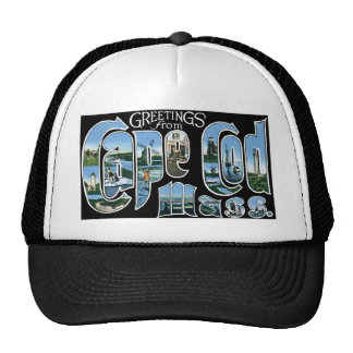Greetings from Cape Cod, Mass! Trucker Hat