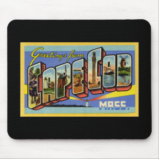 Greetings from Cape Cod Massachusetts Mouse Pad