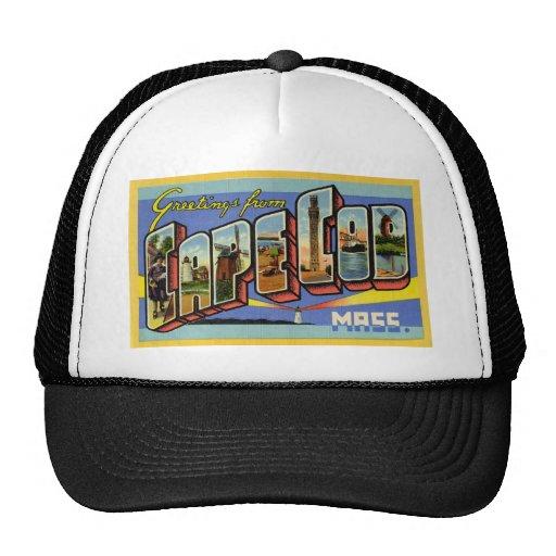 Greetings from Cape Cod Massachusetts Trucker Hat
