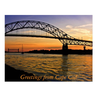 Greetings from Cape Cod Post Card