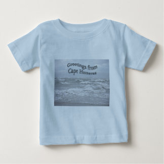 Greetings From Cape Hatteras Baby T-Shirt