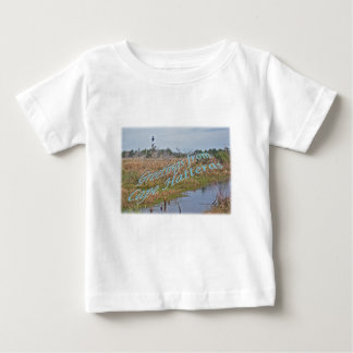 Greetings from Cape Hatteras OBX Baby T-Shirt