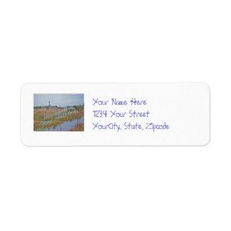 Greetings from Cape Hatteras OBX Custom Return Address Label