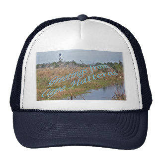Greetings from Cape Hatteras OBX Trucker Hat