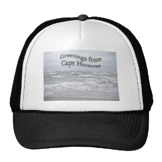 Greetings From Cape Hatteras Trucker Hat