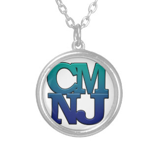 Greetings from Cape May, New Jersey Silver Plated Necklace