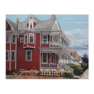 Greetings from Cape May! Postcard