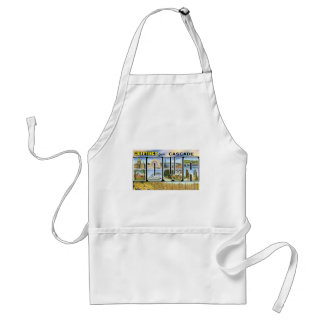 Greetings from Cascade, Iowa! Adult Apron