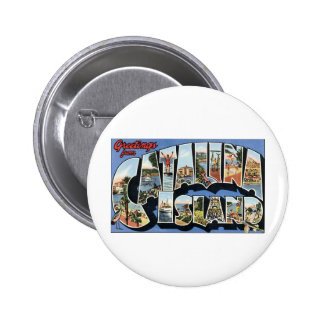Greetings from Catalina Island Pinback Button