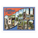 Greetings From Catskill Mountains NY Postcard