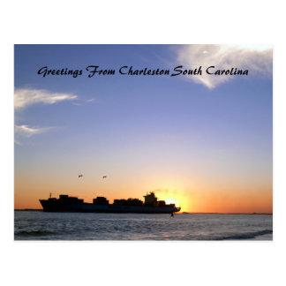 Greetings From Charleston South Carolina Customiza Postcard