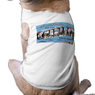 Greetings from Charleston, South Carolina! Doggie T-shirt