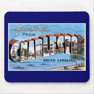 Greetings from Charleston, South Carolina! Mouse Pad