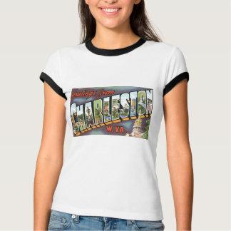 Greetings from Charleston, West Virginia! Vintage T-Shirt