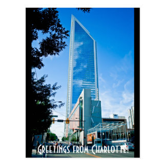 Greetings from Charlotte! Postcards