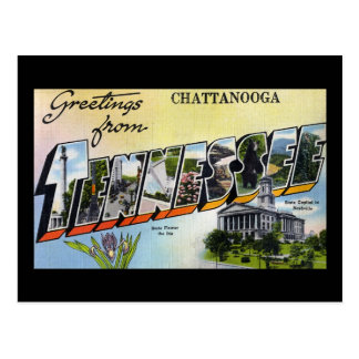 Greetings from Chattanooga Tennesee Postcard