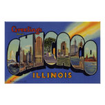 Greetings from Chicago Illinois Posters