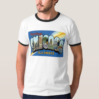 Greetings from Chicago, Illinois! T-Shirt