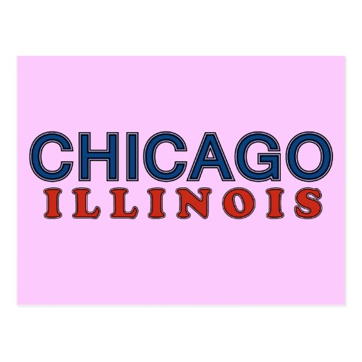 Greetings from Chicago mis amigos! Postcard
