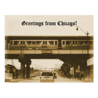 Greetings from Chicago! Postcard