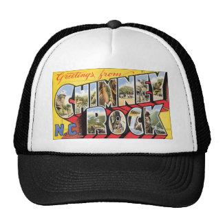 Greetings From Chimney N.C. Rock, Vintage Mesh Hats