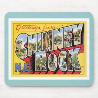 Greetings From Chimney Rock North Carolina Mousepads