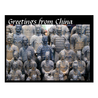 Greetings from China Postcard