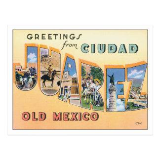 Greetings From Ciudad Juarez Postcard