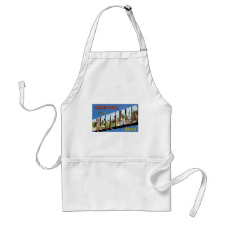 Greetings from Cleveland, Ohio! Adult Apron