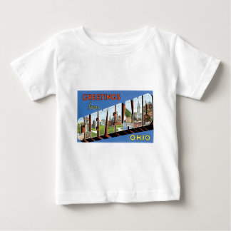 Greetings from Cleveland, Ohio! Baby T-Shirt