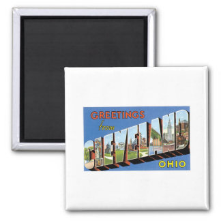 Greetings from Cleveland, Ohio Magnet