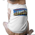 Greetings from Cleveland, Ohio! Pet Tee Shirt