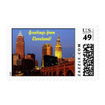 Greetings from Cleveland, Ohio Stamps