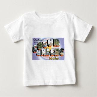 Greetings from Coeur d'Alene, Idaho! Baby T-Shirt