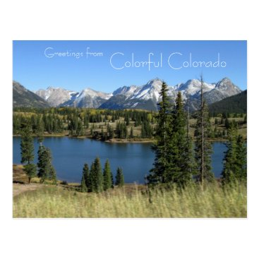 photog4Jesus Greetings from Colorful Colorado Postcard