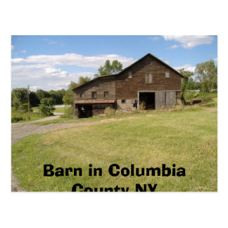 Greetings from Columbia County,NY Postcard
