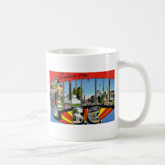 Greetings from Columbia South Carolina Coffee Mug