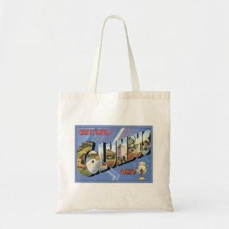 Greetings From Columbus Ohio Bags