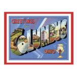 Greetings From Columbus Ohio Postcard