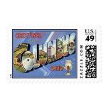 Greetings From Columbus Ohio Stamp
