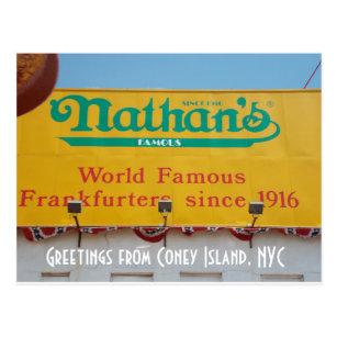 Coney island postcards zazzle greetings from coney island nyc 1 postcard m4hsunfo
