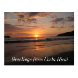 Greetings from Costa Rica! Postcard