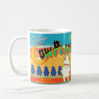 GREETINGS FROM COW PLANET Boynton Coffee Mug